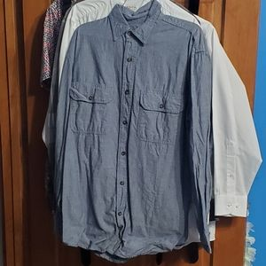 KEY Chambray Shirt Size Medium